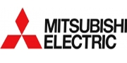 логотип mitsubishi electric, кондиционеры mitsubishi electric